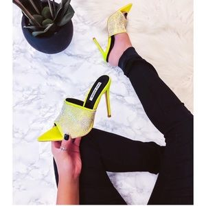 SHINE BRIGHT 💍💎Crystal covered lime 🍋 mules